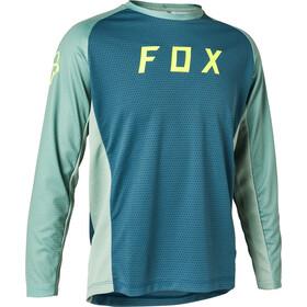 Fox Defend Maglia a Maniche Lunghe Ragazzi, blu